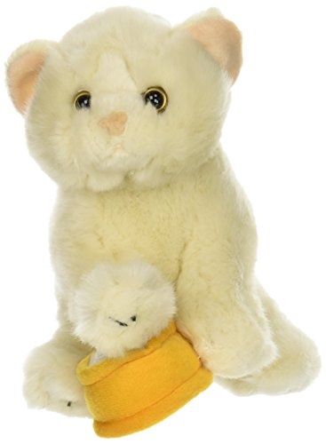 Teeboo-10-Inch-Persian-White-Kitten-Cat-White-with-Sounds-Meow-Interactive-Plush-Toy