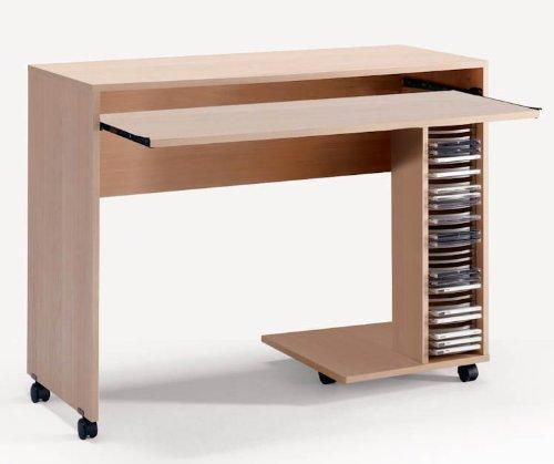 Buy Low Price Comfortable Azbi Mobile Computer Desk By Nexera Furniture (B003OEOX5C)