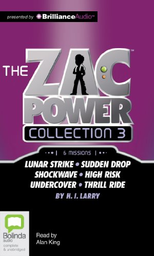 Zac Power Collection #3: 6 Missions: Lunar Strike-sudden Drop-shockwave-high Risk-undercover-thrill Ride