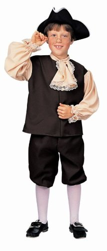 Colonial Boy Child Costume (Large)