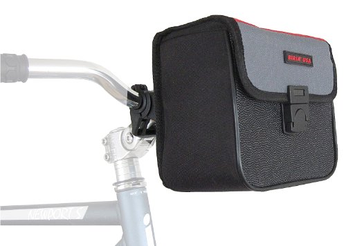 Front Bicycle Handlebar Bag , Tour Guide, Quick Release Max Carry On Weight Limit: 12 LB by Biria