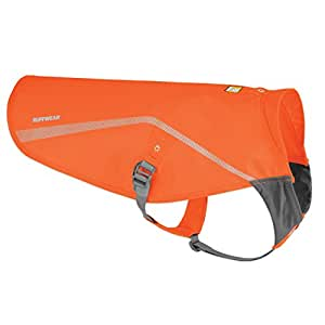Ruffwear Track Jacket for Pets, XX-Small/X-Small, Blaze Orange