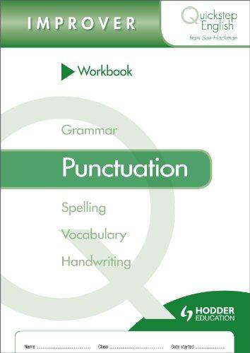 Quickstep English Workbook Punctuation Improver Stage (pack of 10) (Quickstep English Workbooks)