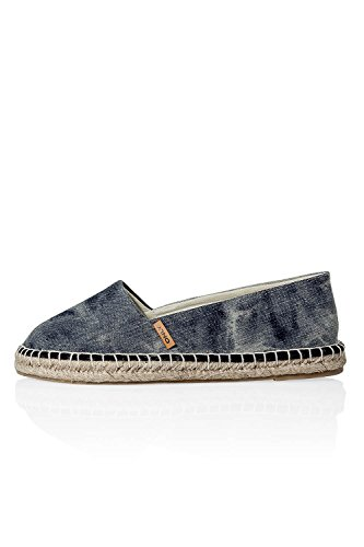 ONLY, Espadrillas basse donna Multicolore multicolore nero 37