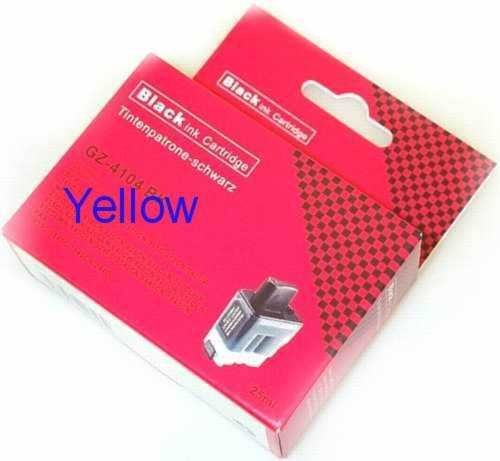 Patrone f&#252;r Brother MFC-210C DCP-110C DCP-115C LC900 Yellow