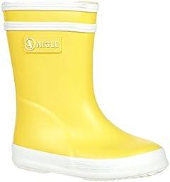 Aigle Unisex Baby Baby Flac (Inf/Tod) - Yellow/White - 20 EU (4 US)