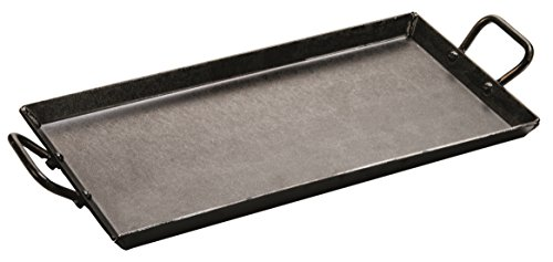 Lodge CRSGR18 Carbon Steel Griddle, Pre-Seasoned, 18-inch