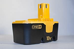18V Replacement Battery for Ryobi 18 Volt Cordless Drill Nailer Tool - Mighty Max Battery brand product by Mighty Max Battery