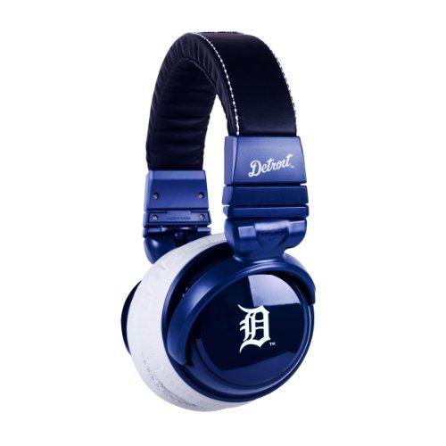 Bigr Audio Xlmlbdt1 Mlb Licensed Detroit Tigers Plastic Headphones