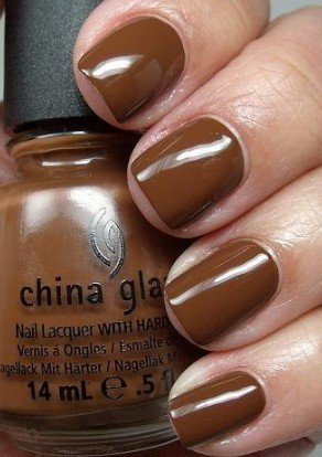 China Glaze Nail Polish Lacquer The Hunger Games Collection Mahogany Magic # 80620 14ml 0.5oz