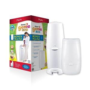 Diaper Genie Elite Diaper Pail with Mini Pail Included