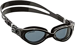 Cressi Swim DE202950 Flash Small Lunettes natation Verre miroir Noir Taille unique