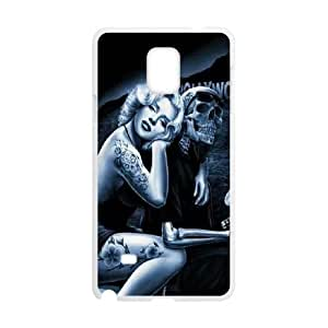 Amazon com qwspy skull marilyn monroe phone case for samsung galaxy