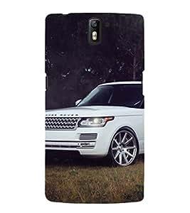 EPICCASE bling range rover Mobile Back Case Cover For OnePlus One (Designer Case)