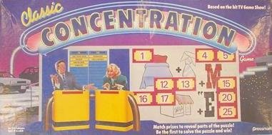 Classic Concentration 1988 Board Game - Buy Classic Concentration 1988 Board Game - Purchase Classic Concentration 1988 Board Game (Pressman, Toys & Games,Categories,Games,Board Games,Word Games)