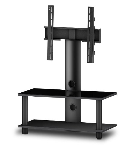 Sonorous Evo 822 Glass And Wood Television Stand With An Integrated Bracket For Upto 32 Inch Tv
