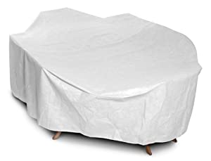 KoverRoos DuPont Tyvek 21462 Supersize High Back Dining Set Cover, 140 by