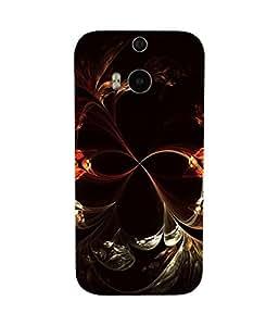 Digi Floral HTC One M8 Case
