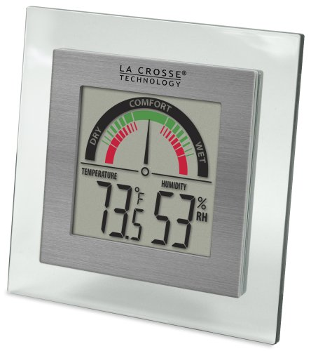 La Crosse Technology WT-137U Digital Thermometer/Hygrometer with Comfort Meter