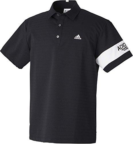 (アディダスゴルフ)adidas Golf CORE Performance スリーブラインドショートスリーブウーブンポロ CCG35 AF7916 ブラック ブラック L