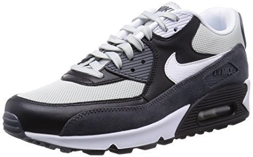 Nike Air Max 90 Essential Men's Running Shoes 537384-037 Grey Mist 8 M US (Mens Nike Air Max 90 compare prices)