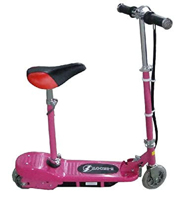 Buy This Kids Pink Electric Escooter 120w Ride comes with  Adjustable Removable Seat