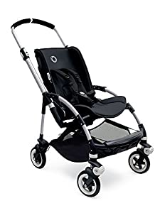 Bugaboo Bee3 Seat Fabric - Black, Black