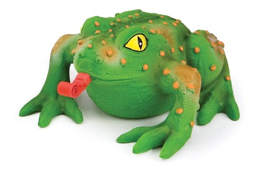 Frog Dog Toy Squeeze Ball