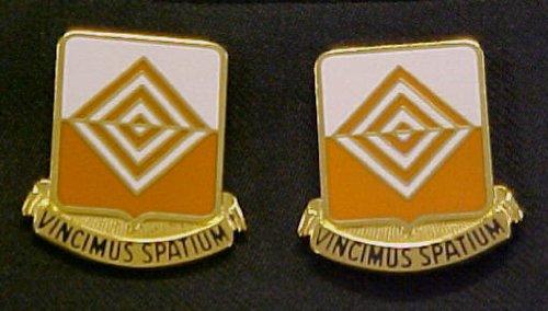 57th Signal Battalion Distinctive Unit Insignia - Pair