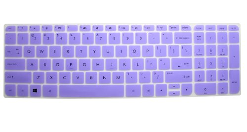Semi-Purple High Quality Ultra Thin Soft Silicone Keyboard Protector Skin Cover For Hp Envy Touchsmart Sleekbook 15-E*** 15T-E*** 15Z-E*** 15Z-J*** 15-J*** 15Z-B*** 15-B*** 15-N*** 15-D*** 15-G*** M6-K*** M6-N*** 17-J*** 17T-J*** 17-E*** M7-J*** Series, S