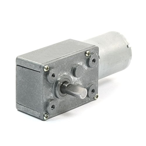 Dc 12V 8300Rpm 34Rpm Speed Reducer High Torque Worm Geared Box Motor