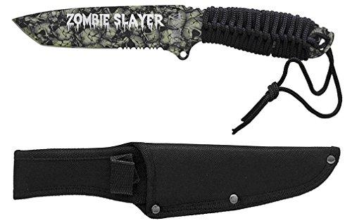 "Tarrkenn 10"" Zombie Slayer Knifeskull Camo"