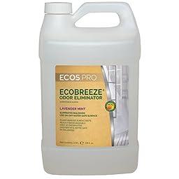 1 Gal. Earth Friendly Products ECOS PRO EcoBreeze Odor Eliminator, Lavender Mint (4 Bottles/Case) - BMC-EFP PL9836/04