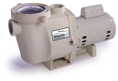 Pentair 011518 Stainless Steel WhisperFlo Up-Rated Energy-Efficient Pool Pump, 1-1/2-Horsepower 115/208/230-Volt