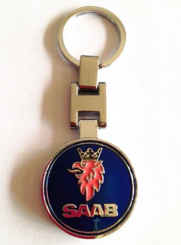 saab-metal-keychain-key-chain-key-ring