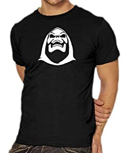 T-Shirt S-XXXL Skeletor Various Colours black Size:S