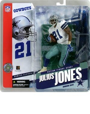 McFarlane Sportspicks: NFL Series 11 > Julius Jones Action Figure