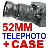 Neewer 2.0X Telephoto Conversion Lens (52Mm) (Stronger Option For Canon Tc-Dc52A)