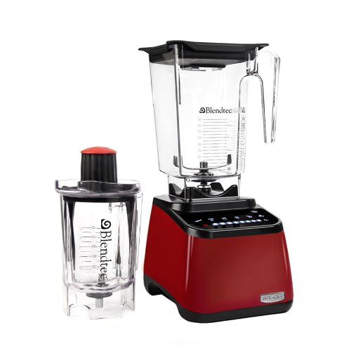 Blendtec 1003271 Designer Series Blender With Wildside And Twister Jar, Red