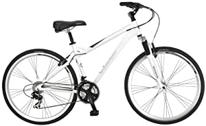 Schwinn Men's Network 3.0 700c Hybrid Bicycle White 18-inch