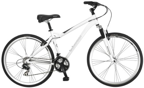 Great Features Of Schwinn Men's Network 3.0 700C Hybrid Bicycle, White, 18-Inch