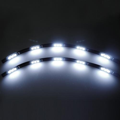 Maxsale 2X 15 Led Audi A5 Day Running Strip Smd Light Lamp 30Cm