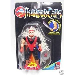 Thundercats Action Figures on Amazon Com  Thundercats Lynx O 1986 Vintage Action Figure  Toys