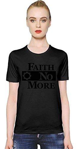 Faith No More Logo T-shirt donna Women T-Shirt Girl Ladies Stylish Fashion Fit Custom Apparel By Genuine Fan Merchandise Large