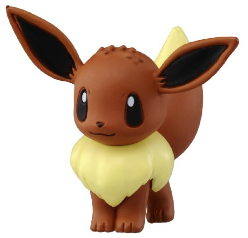 "Takaratomy Official Pokemon X and Y MC-029 2"" Eevee Action Figure - 1"