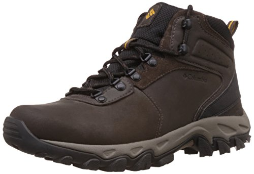 Columbia Men's Newton Ridge Plus II WP Hiking Boot, Cordovan/Squash, 9.5 D US