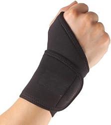Neoprene Gym Wrist Fitness Band Adjustable Velcro Thumb Support