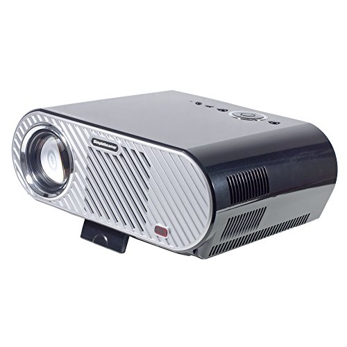 B2COOL 3200 Lumens LED Multimedia Home Theater Projectors 5. 0 Inch LCD TFT Resolution 1280x800 HD Projection...