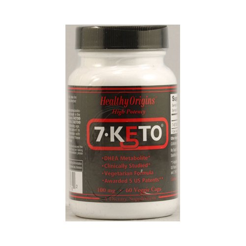 Healthy Origins 7-KETO 100 mg 60 Vcaps