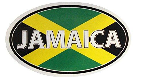 C&D Visionary CDX Jamaica Flag Sticker - 1